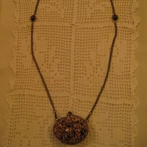 Seashell Pendant Necklace Jewelry - TIGER COWRIE SEASHELL Locket Necklace Coin Purse